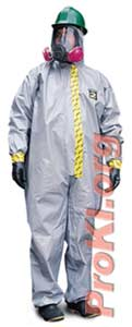 Chemical protective suit - CPF2 coveralls suit