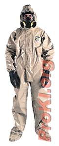 Chemical protective suit - CPF3 coveralls suit